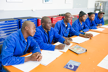 All individuals going through training are fully educated on Safety, Health, Environment and Quality (SHEQ), acquiring the best knowledge transfer possible.