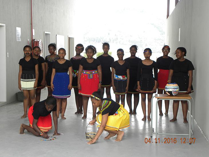 Traditional dancers - Stepping Stone Junior School - local Queenstown school